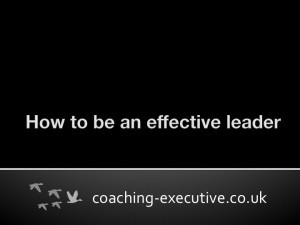 How To Be An Effective Leader Slide 1