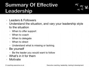 How To Be An Effective Leader Slide 100